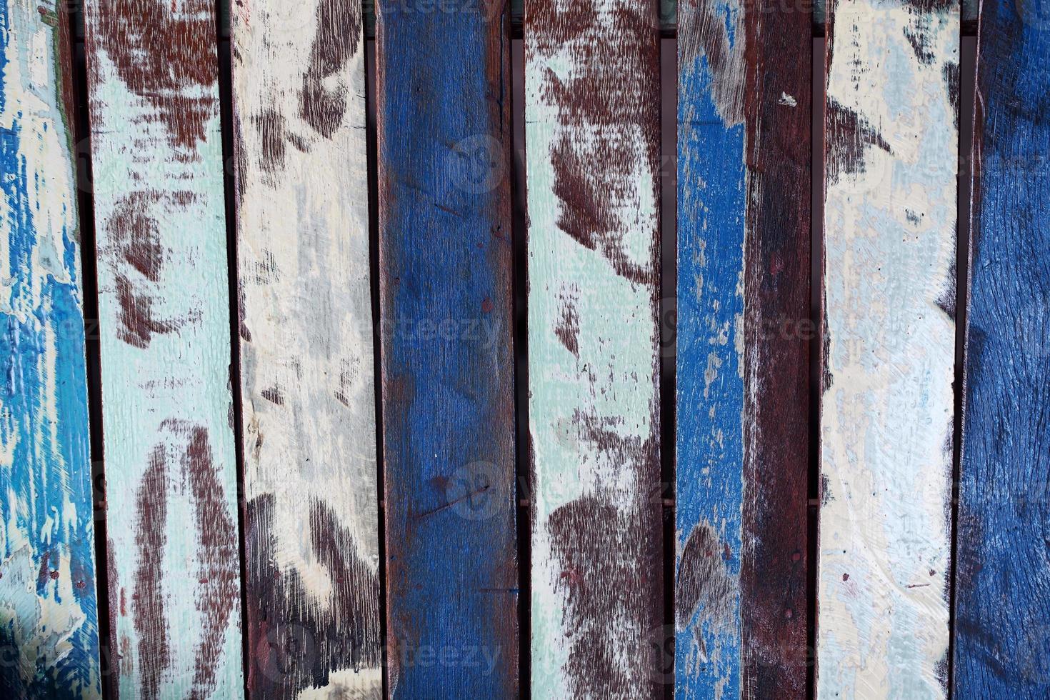 grunge wooden panels photo