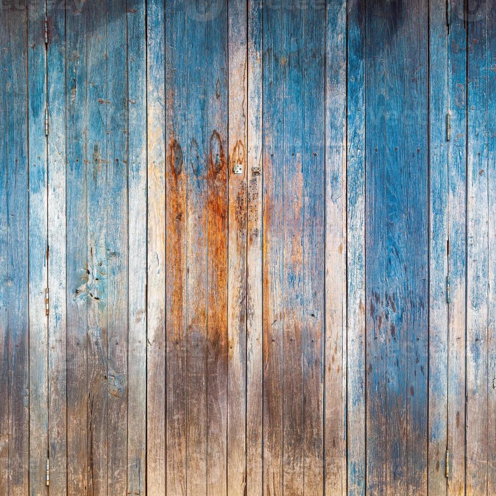 viejo, paneles de madera grunge utilizados como fondo foto