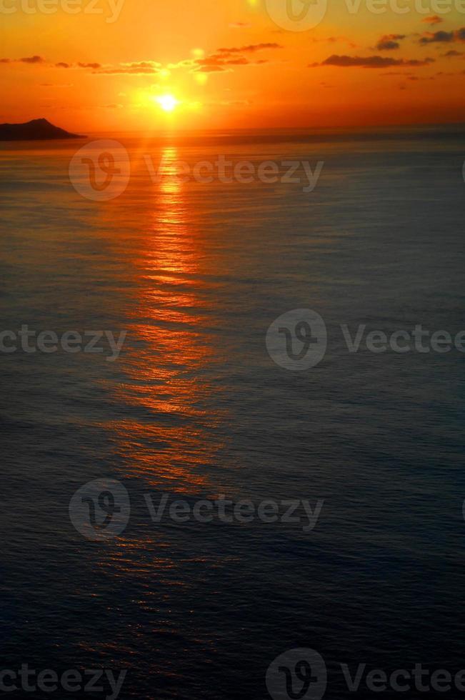 Ball of Fire over Diamond Head photo