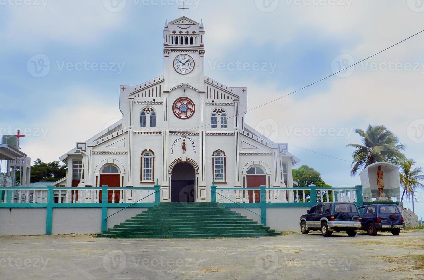 Catedral de San José en Neiafu, Vavau, Tonga foto