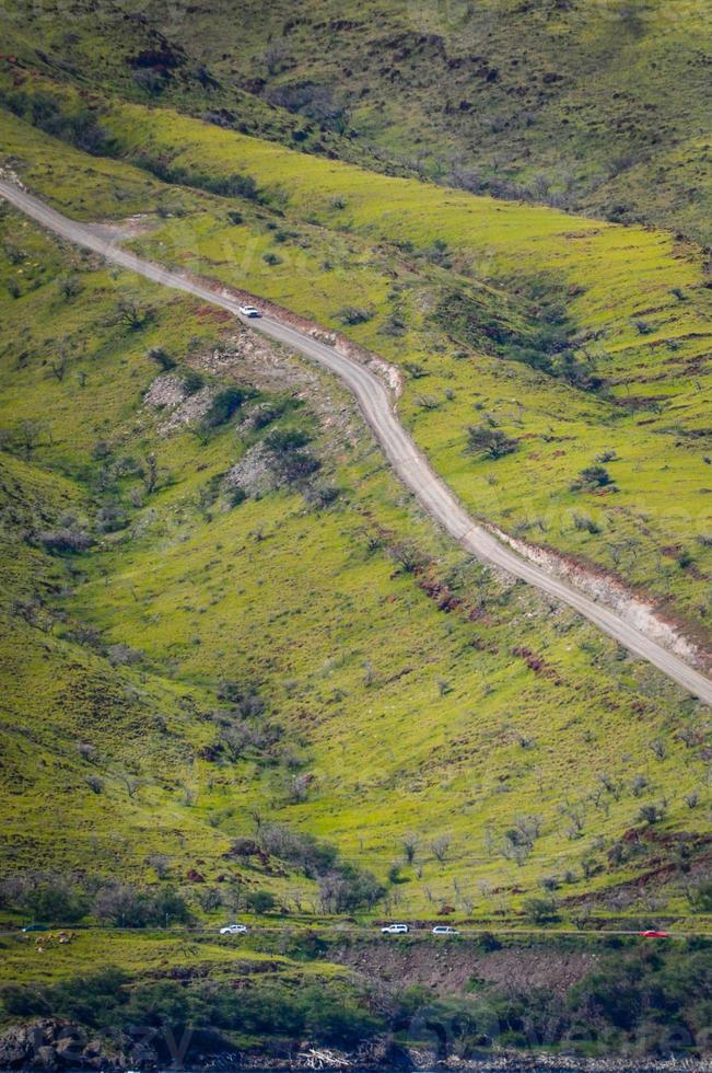Steep road photo
