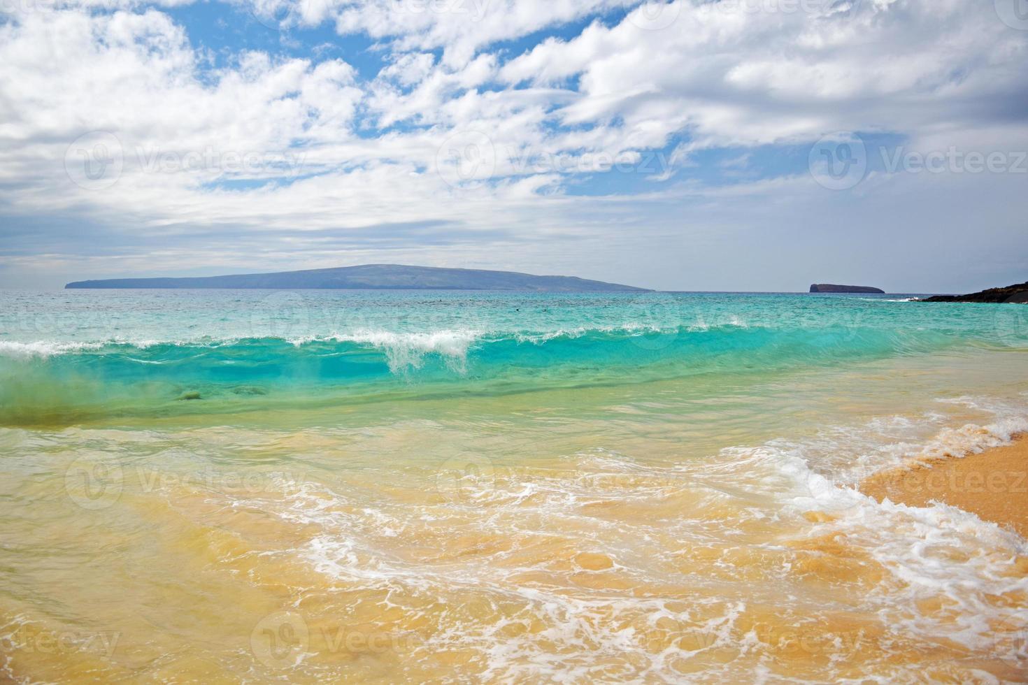 Playa estatal de makena, maui foto