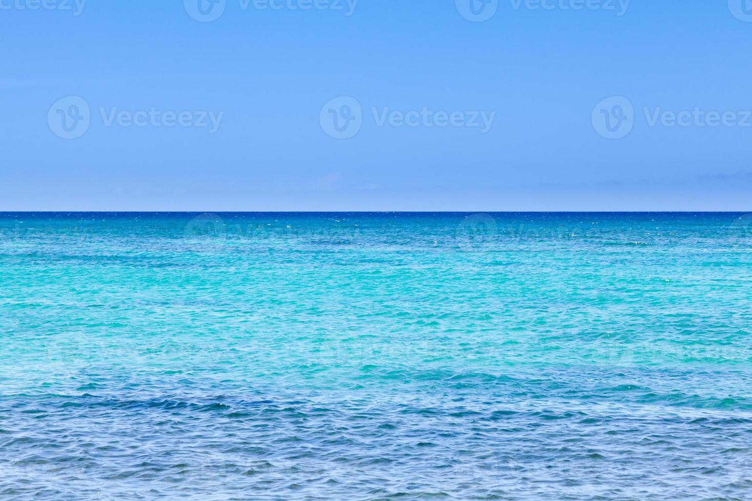 vista panorámica del océano pacífico foto