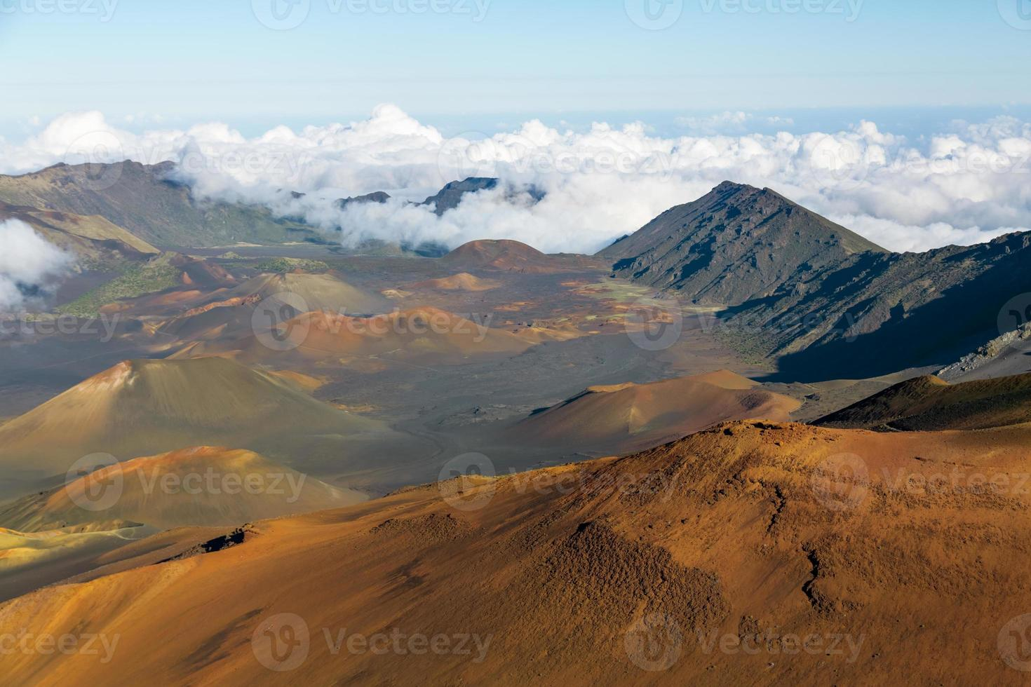 cráter haleakala foto