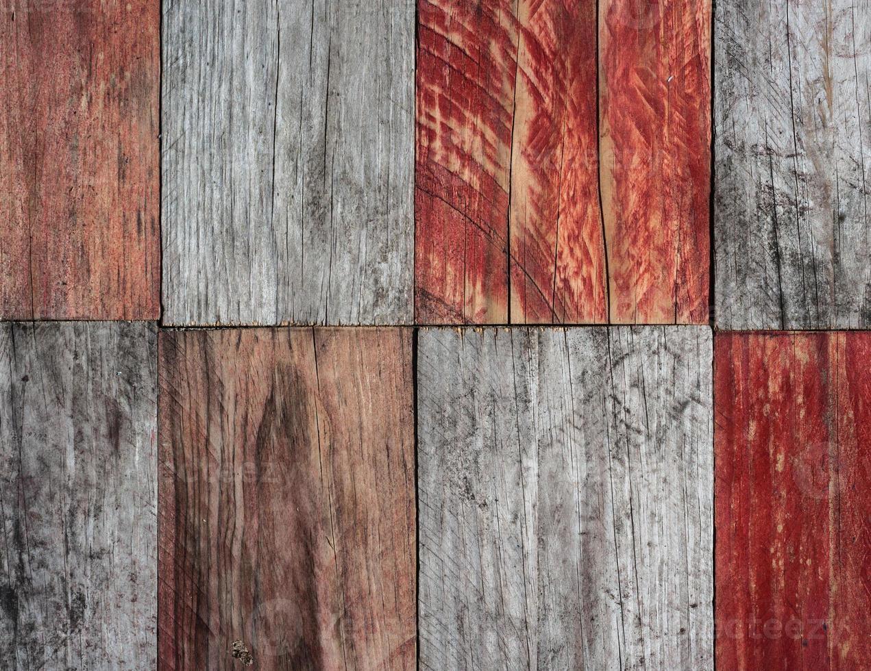 fundo de pranchas de madeira de textura grunge foto