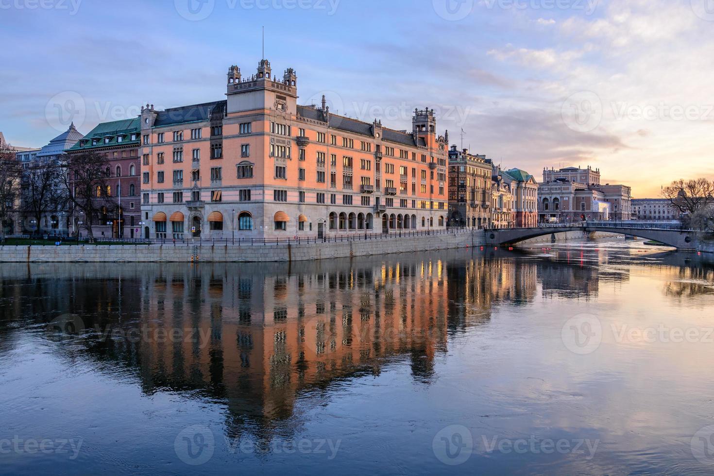 gebouwen in stockholm foto