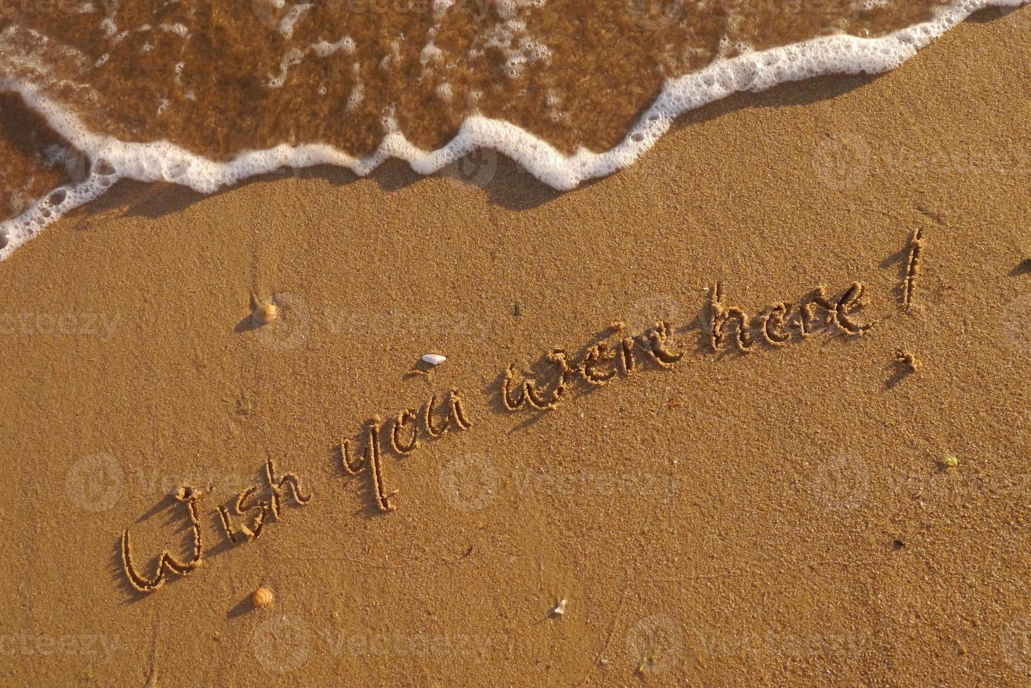 Wish you were here photo