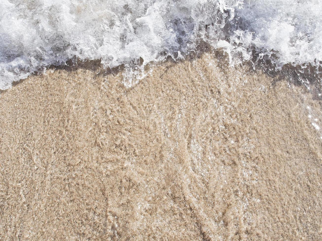 ola de playa waikiki foto