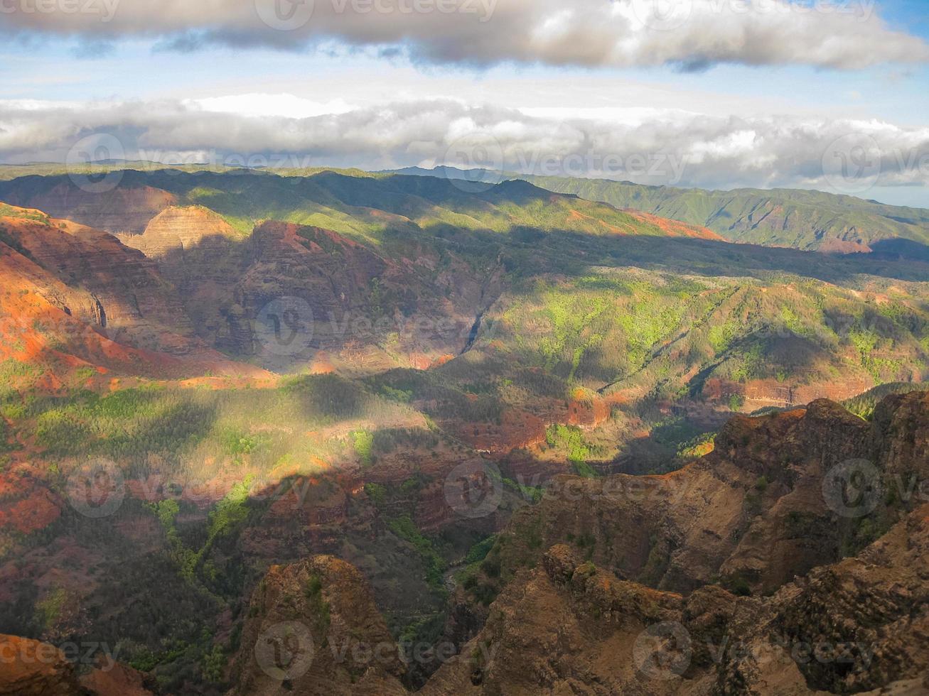 parque estadual do waimea canyon foto