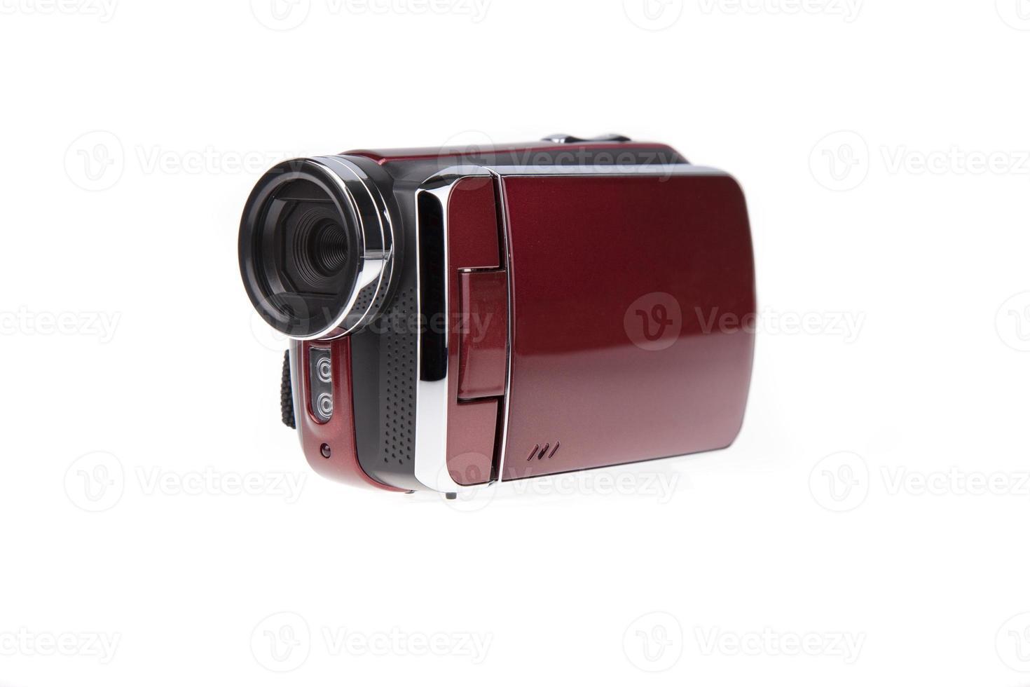 câmera isolada full hd foto