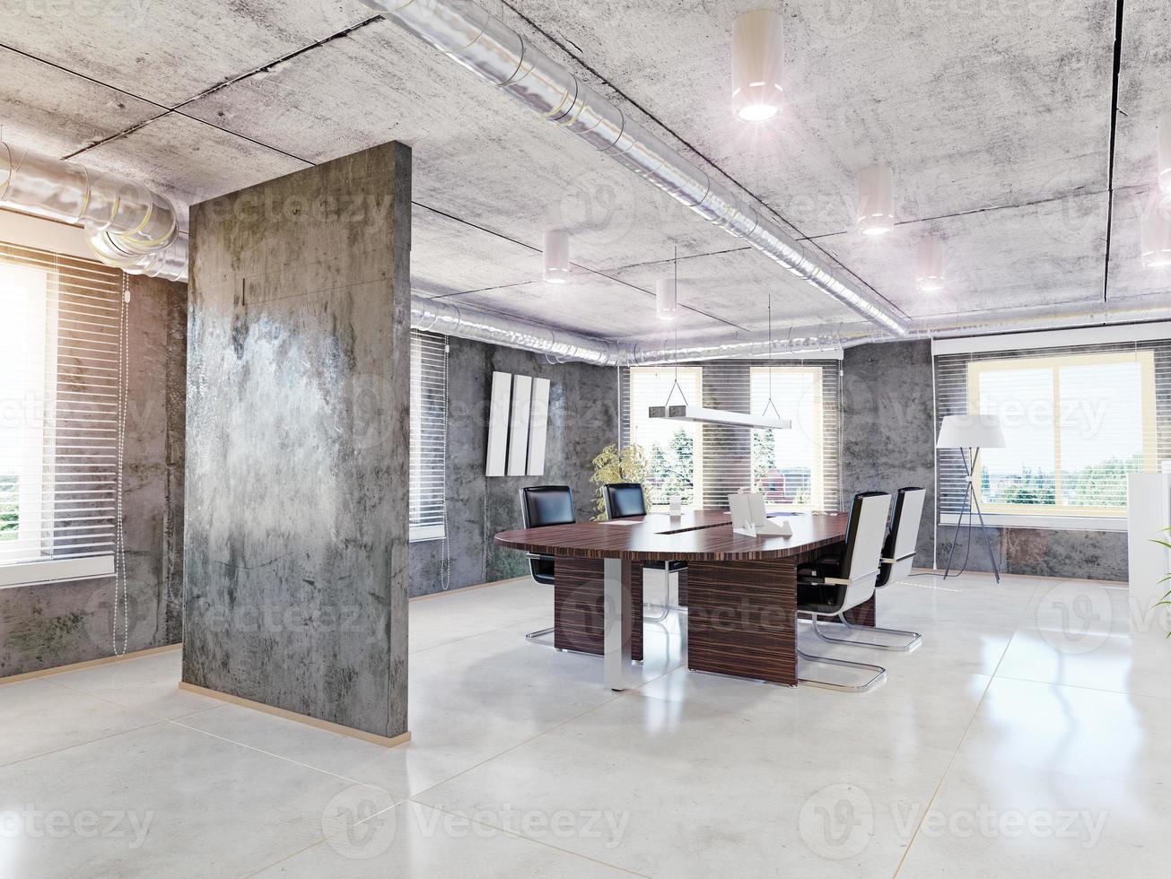 Interior de oficina. foto