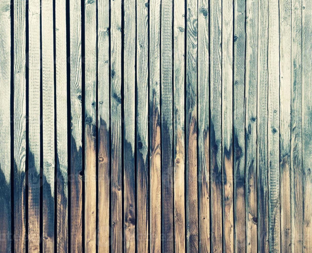 Fondo de madera vintage. Textura de papel tapiz. estilo retro foto