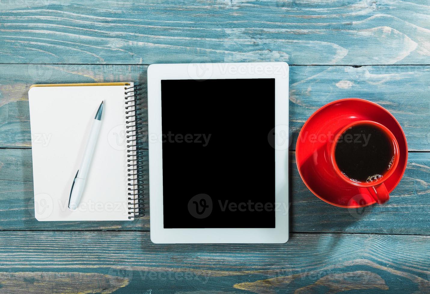 aplicación, difusión, café foto