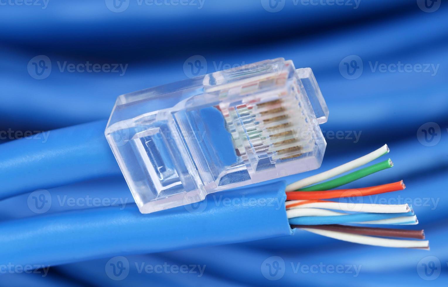 Cable de ethernet foto
