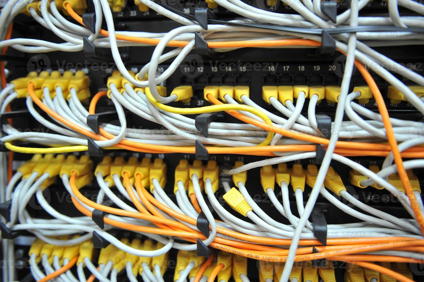 cables de red foto