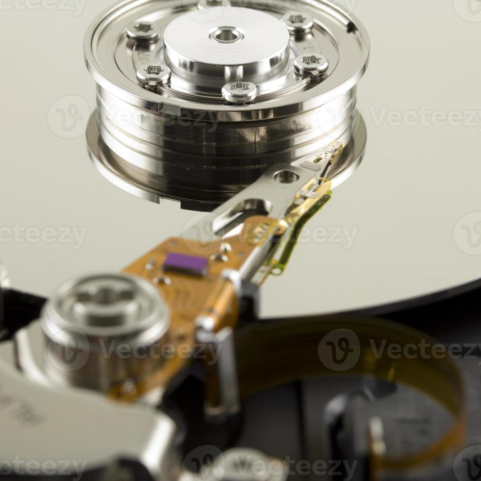 Hard disk from within photo