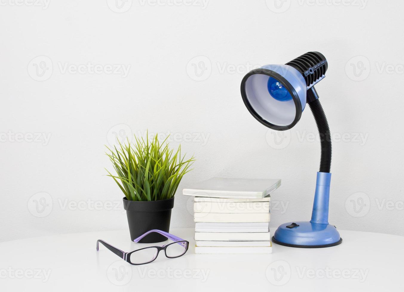 book on desk photo
