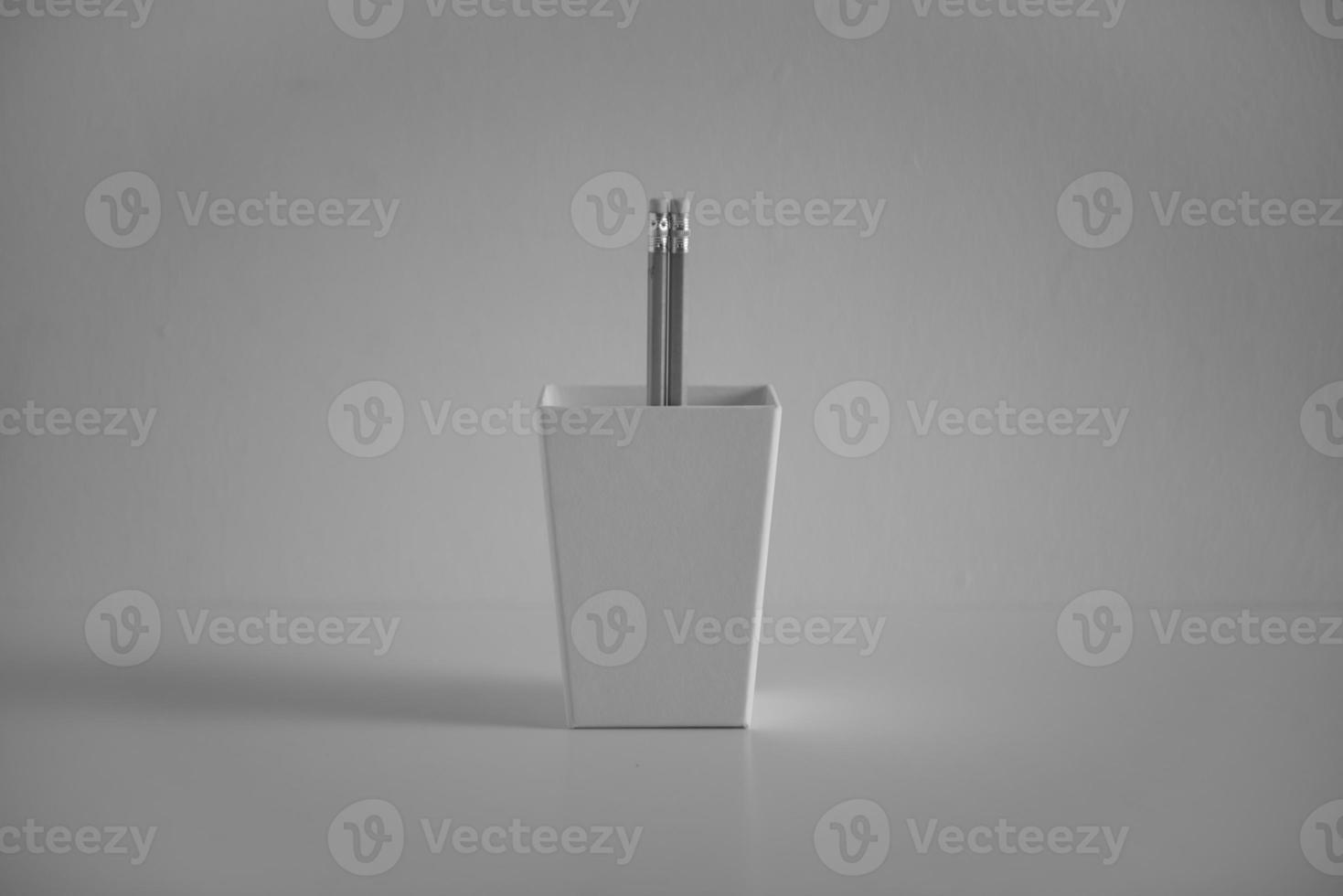 pencil in a pencil holder photo