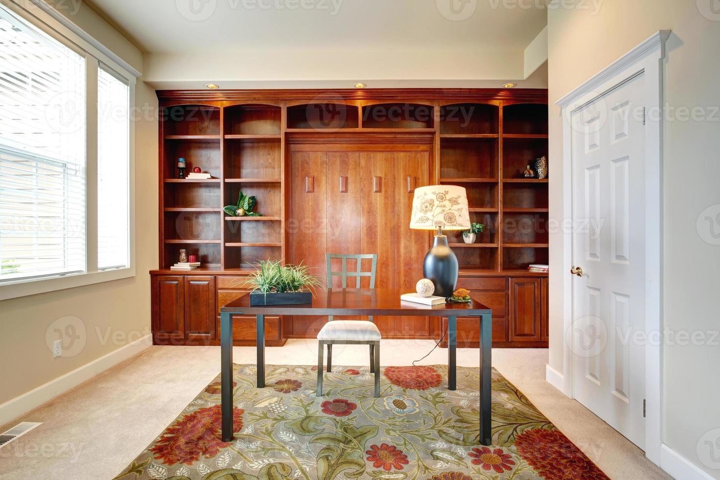 Office room interior. photo