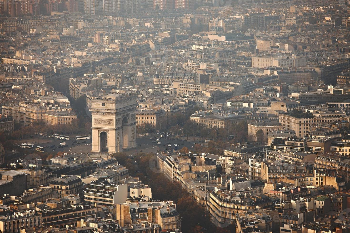 View over Paris photo