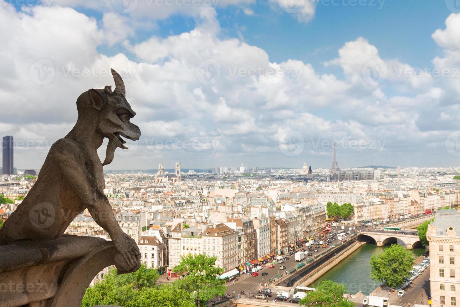 Gargoyle of  Paris photo