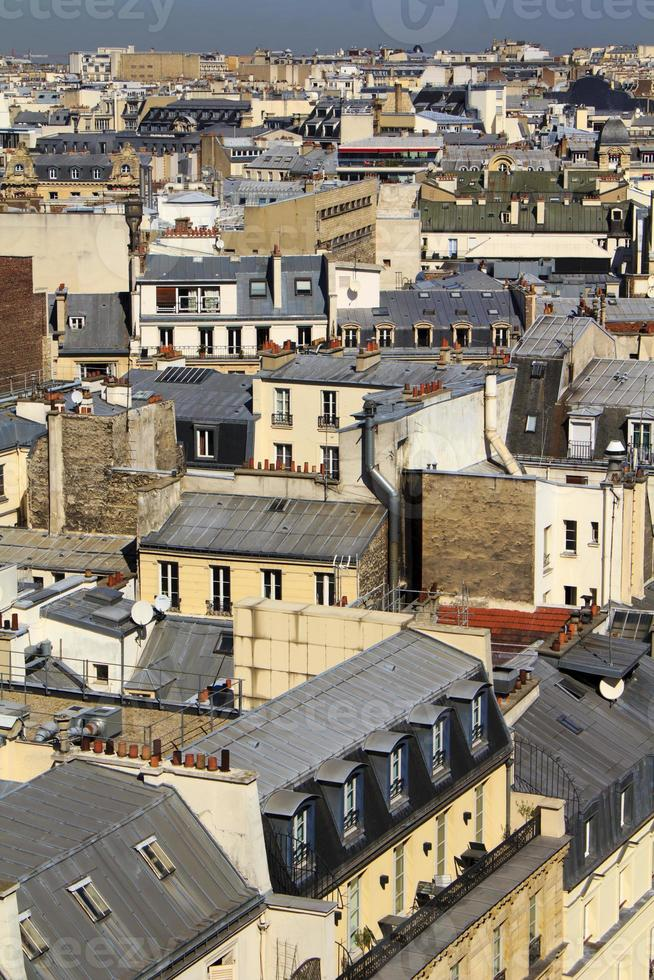 Rooftops in Paris photo