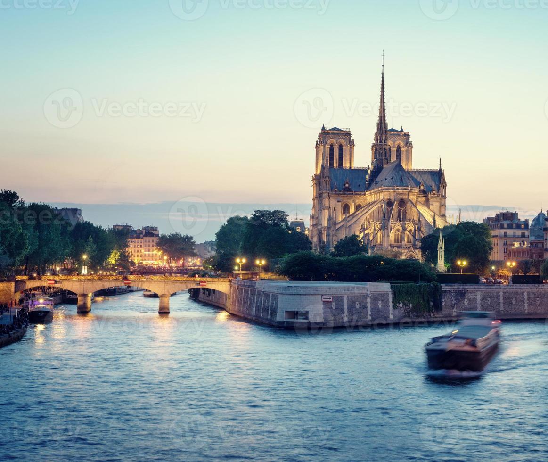 Notre Dame de Paris, France photo