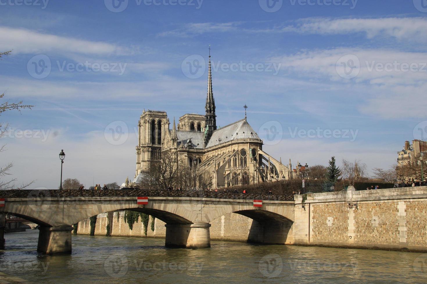 Catedral de Notre Dame de París. foto