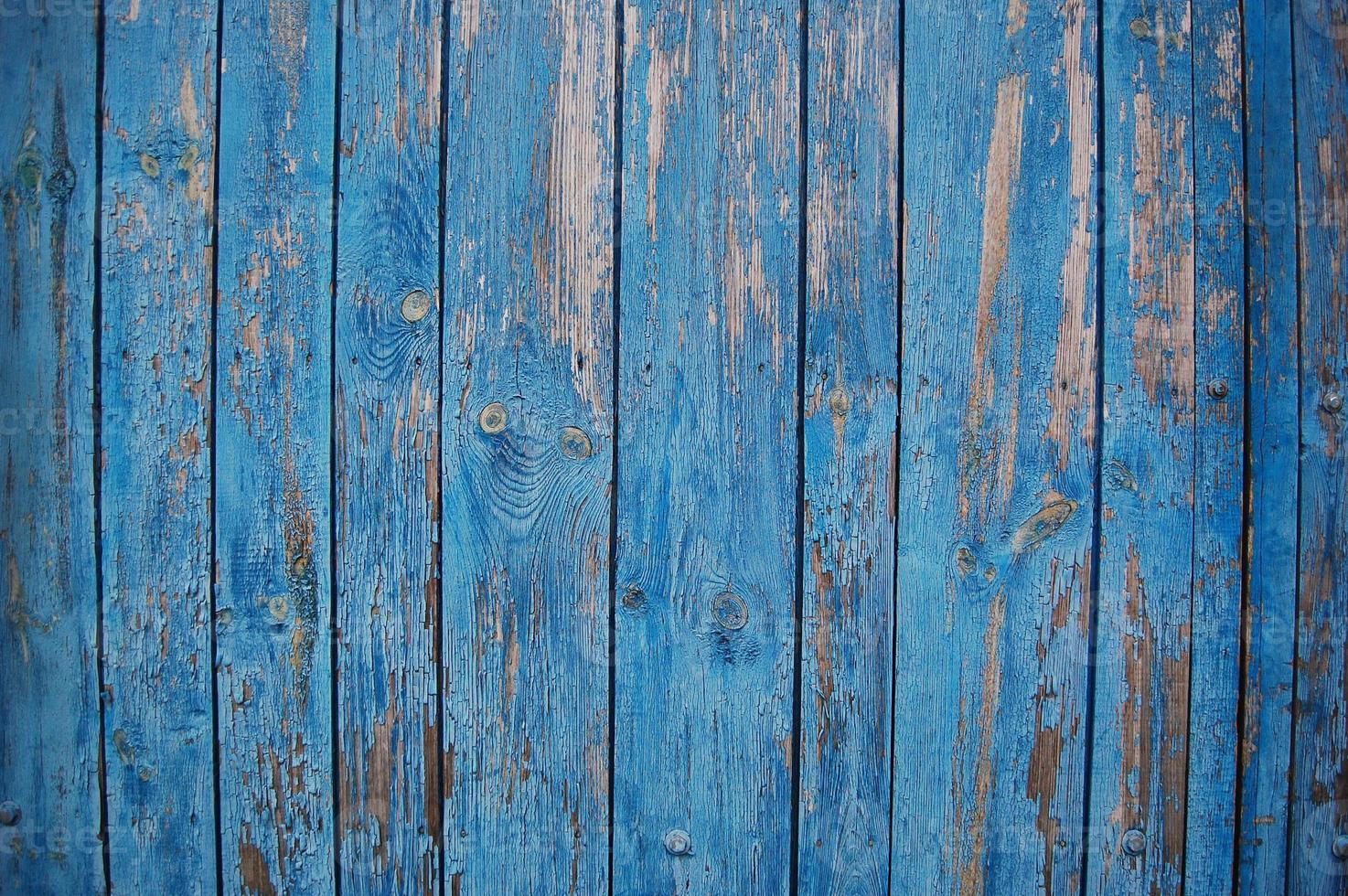 tablones de madera en mal estado foto