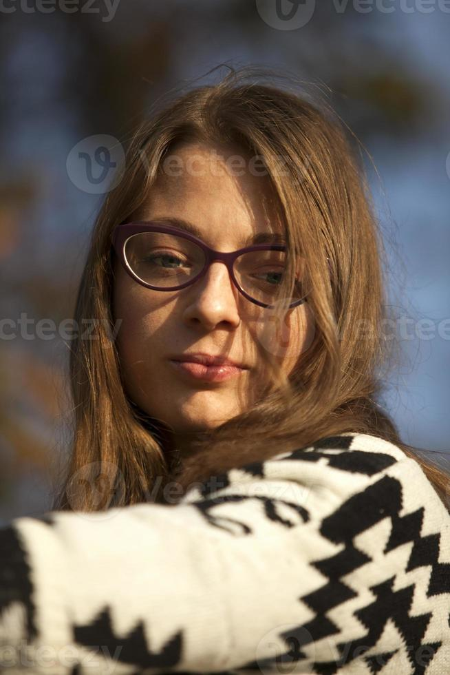 retrato de niña foto