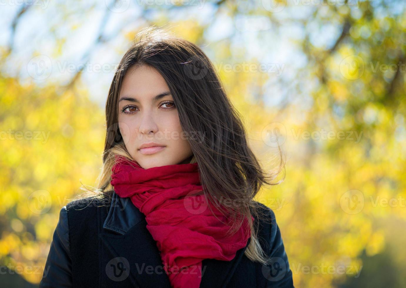 Autumn portrait. photo