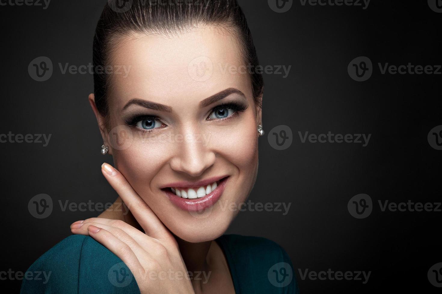 retrato de belleza foto