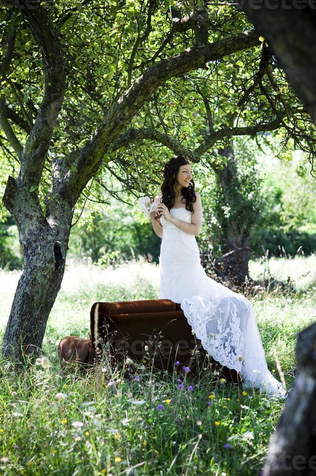 Bridal portrait photo