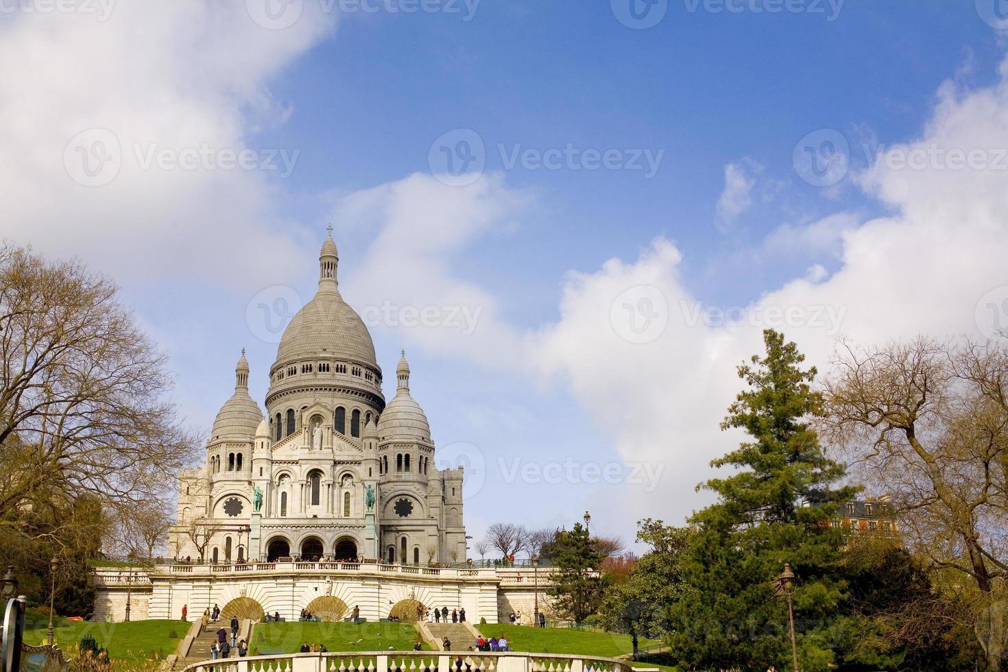 Sacre Coeur en París foto