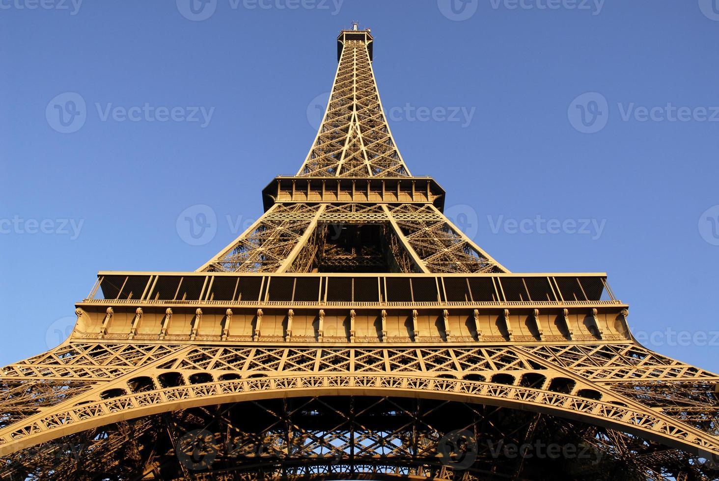torre eiffel de paris foto