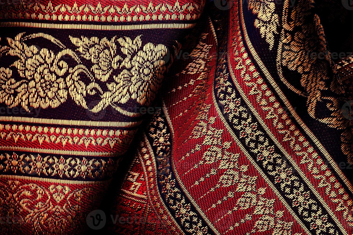 textil asiático antiguo foto