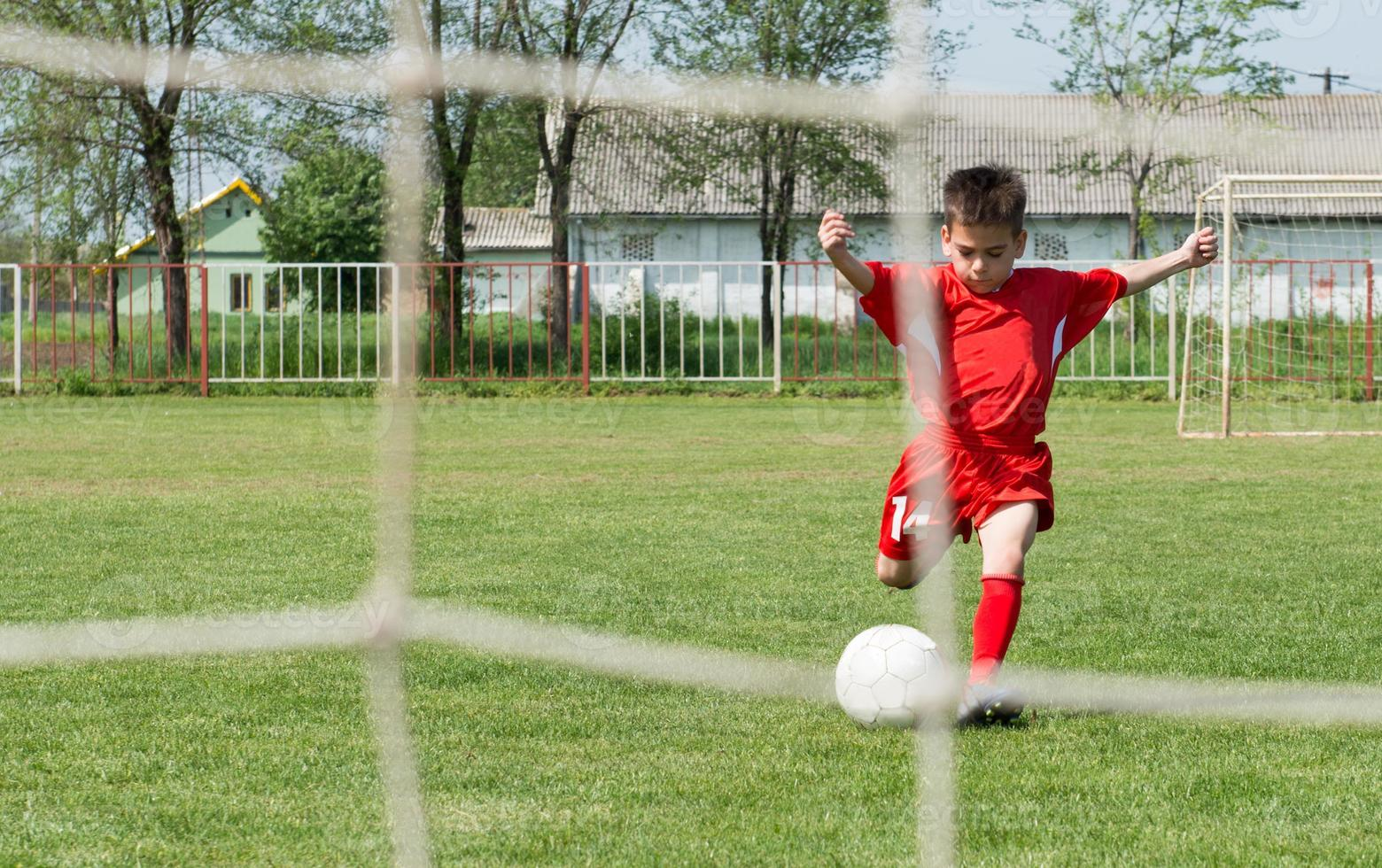 Shooting at Goal photo