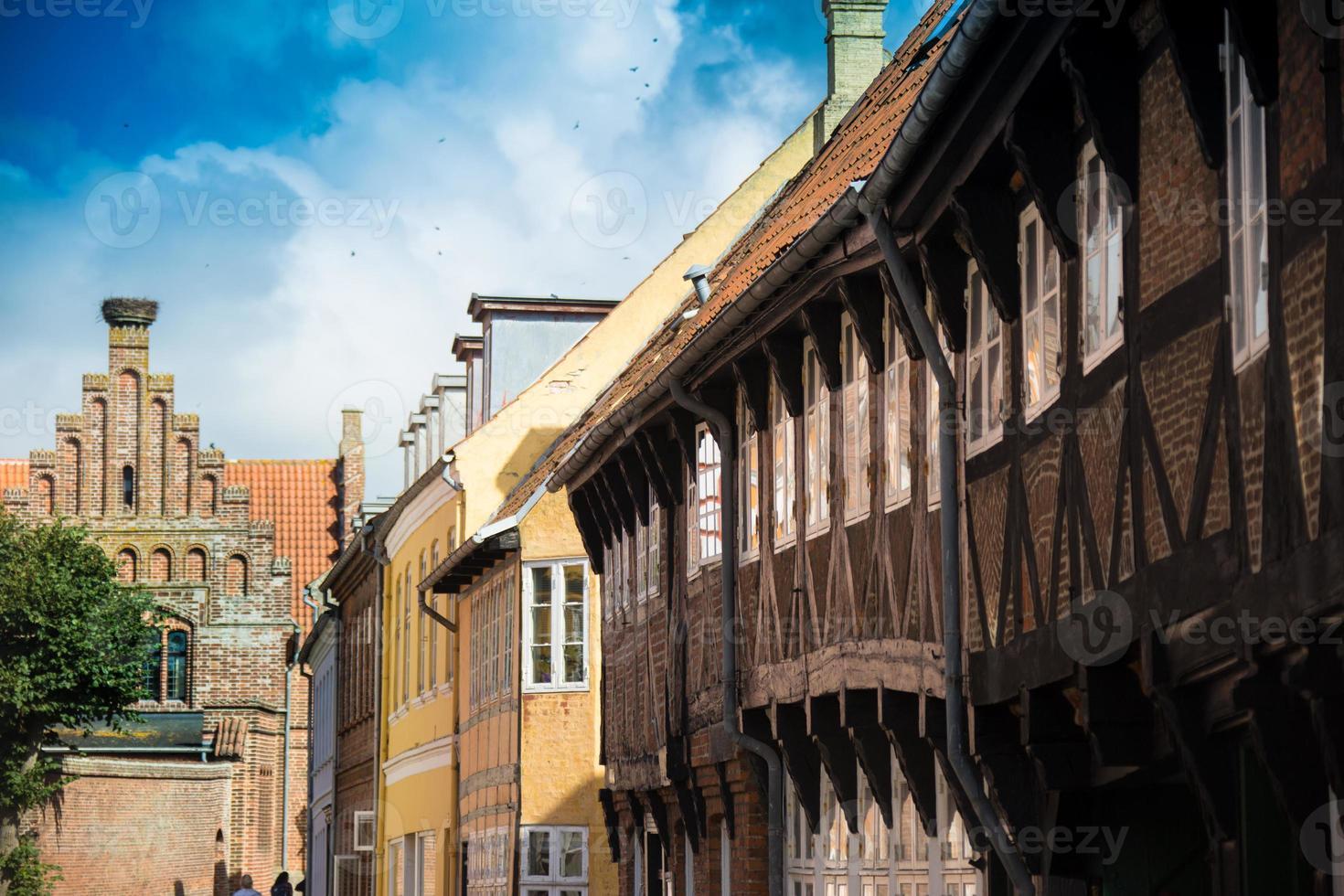 Ribe Town In Denmark photo