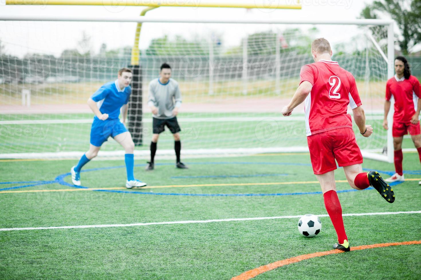 Soccer (football) players photo