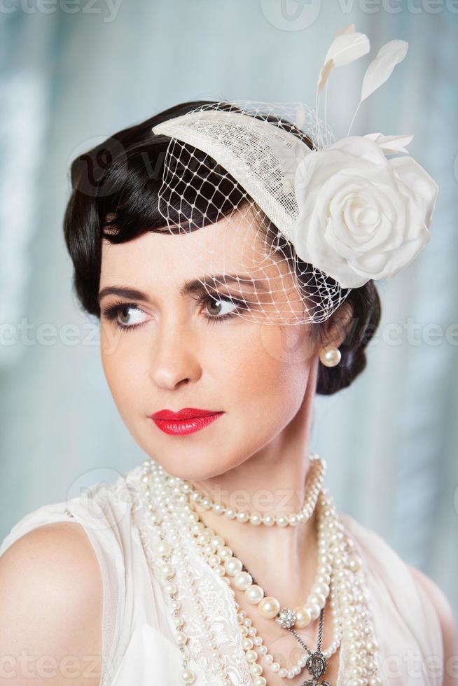 retrato de novia foto