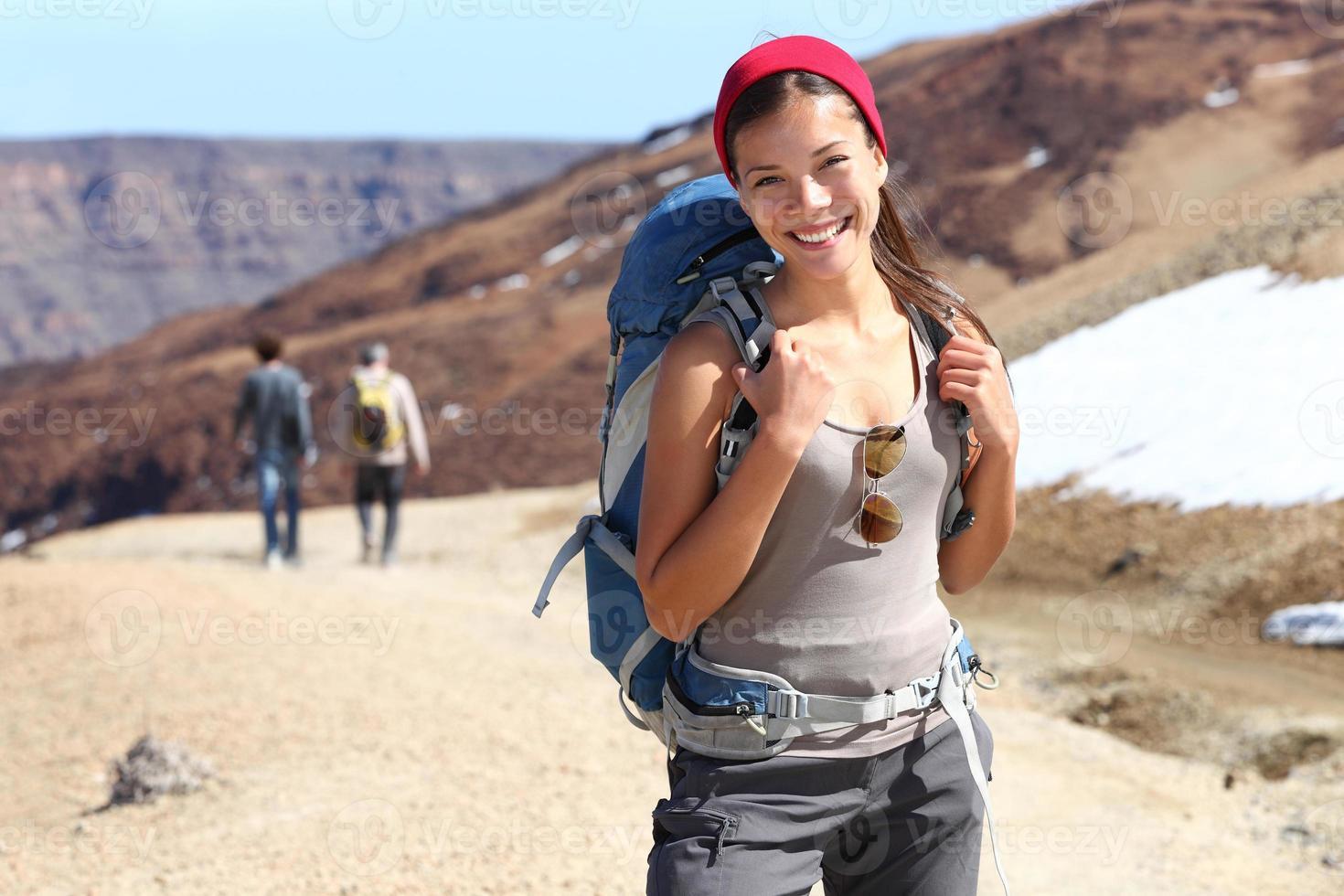 Hiker portrait photo