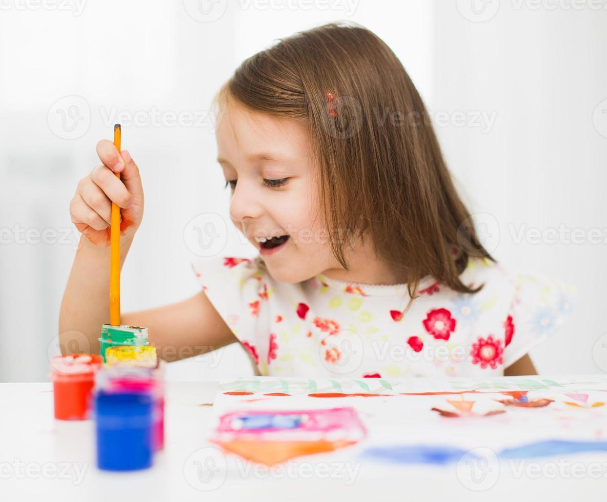 retrato de niños foto