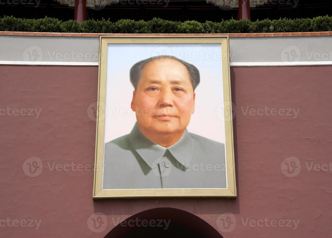 Mao's portrait photo