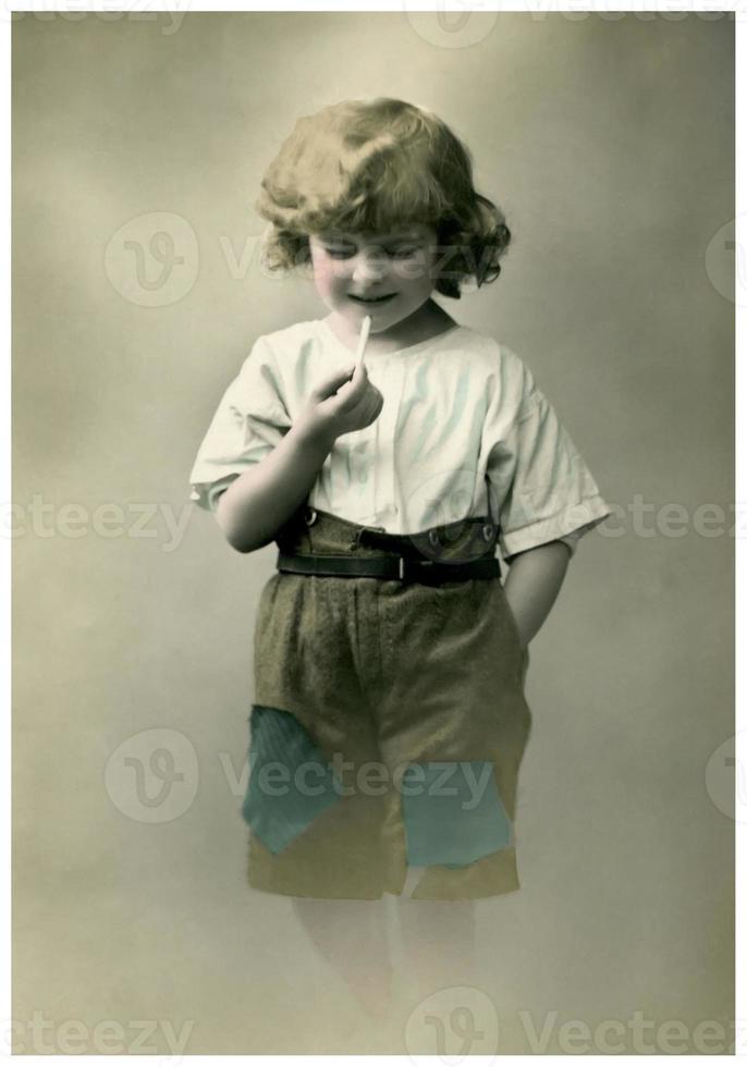 Vintage portrait. photo