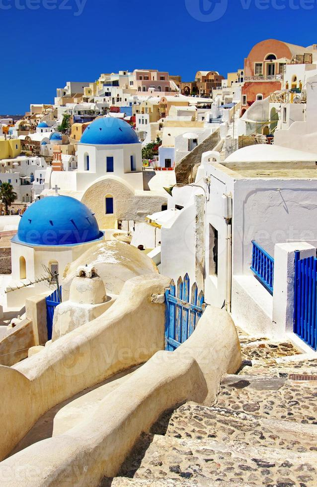 La isla de Santorini, Cícladas, Grecia. foto