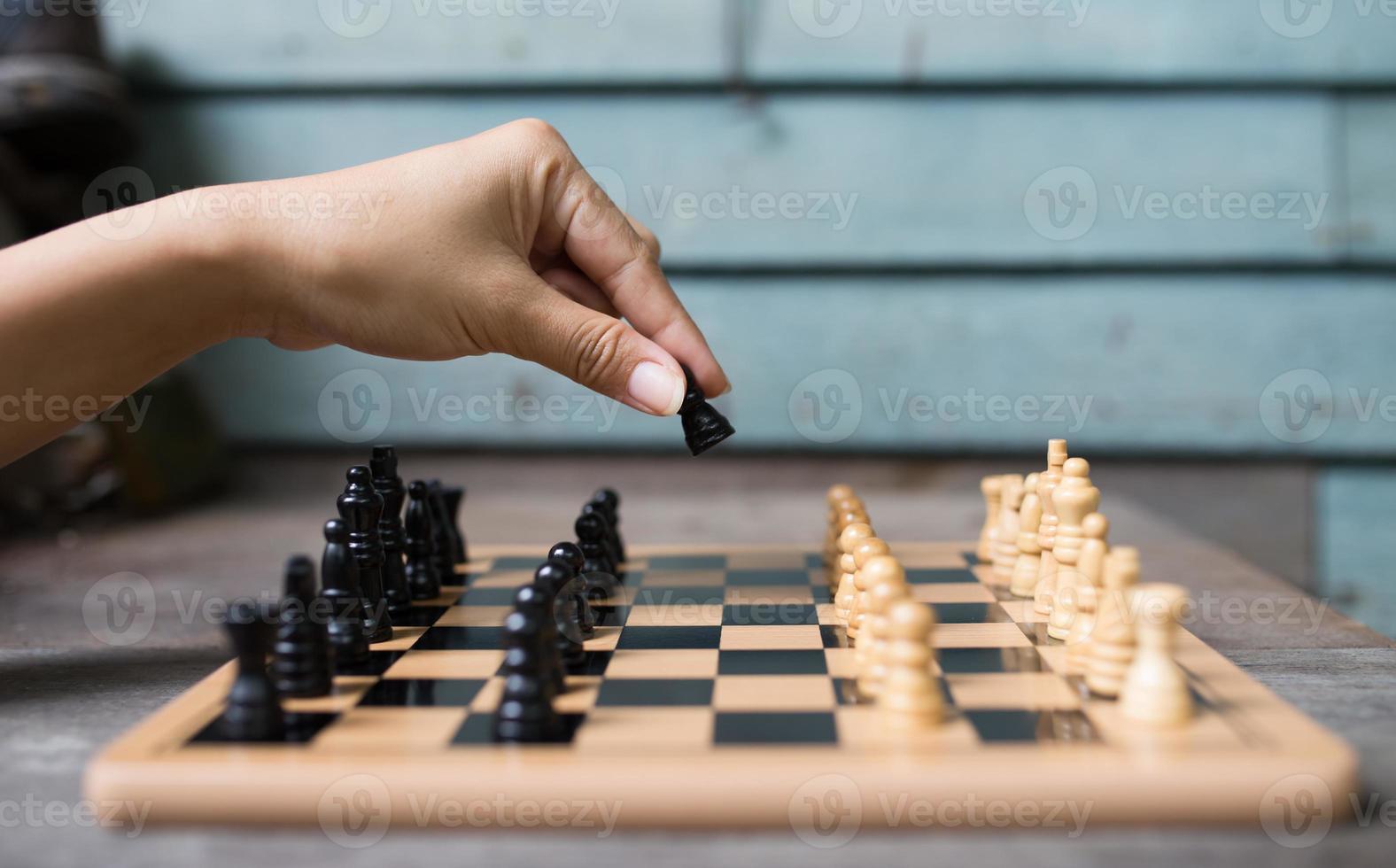 Chess player photo