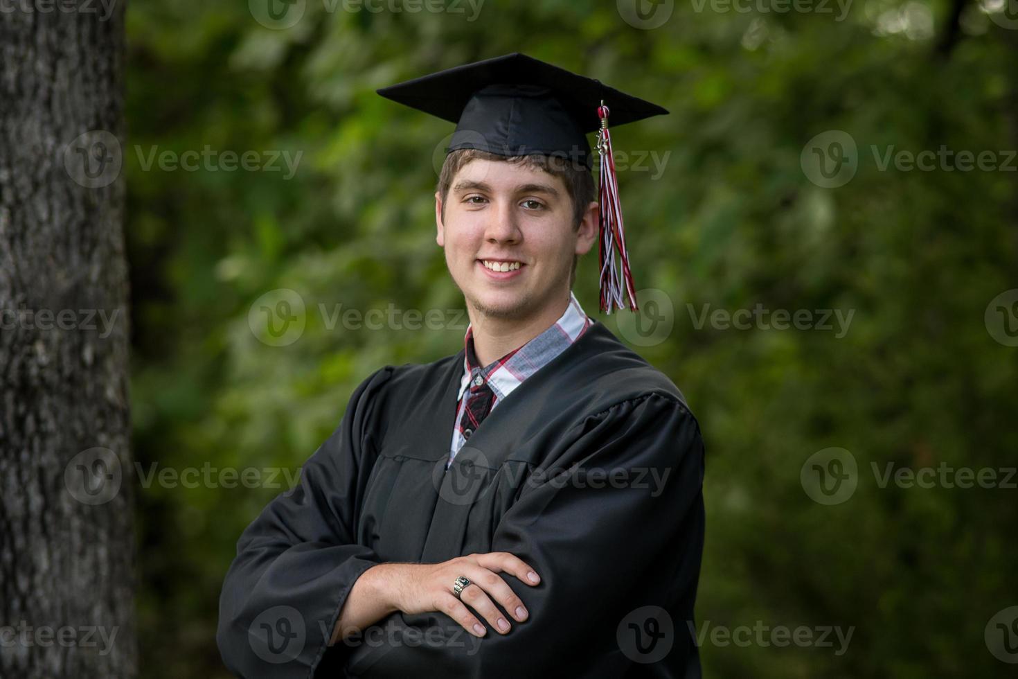 retrato graduado foto
