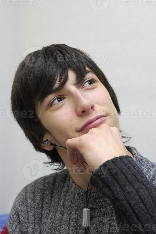 Teen portrait. photo