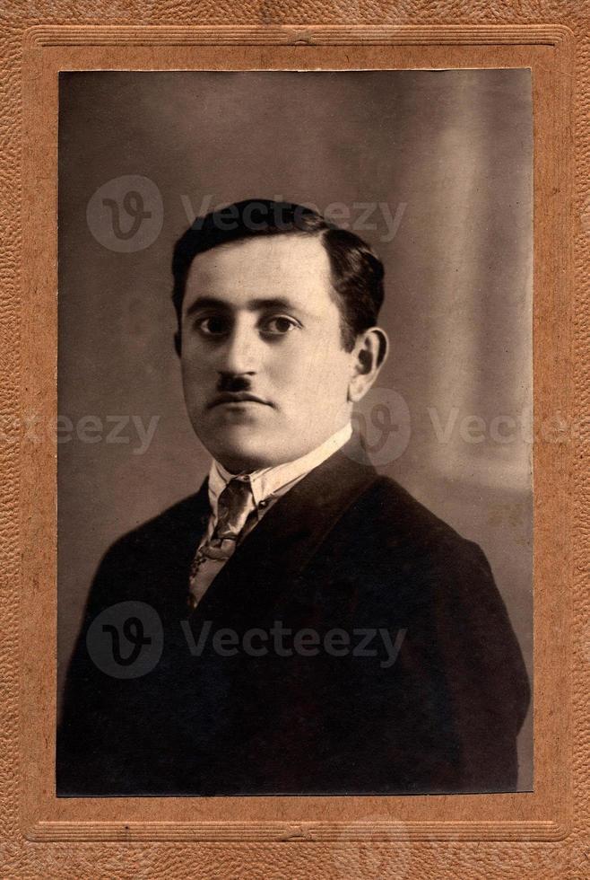 retrato vintage foto