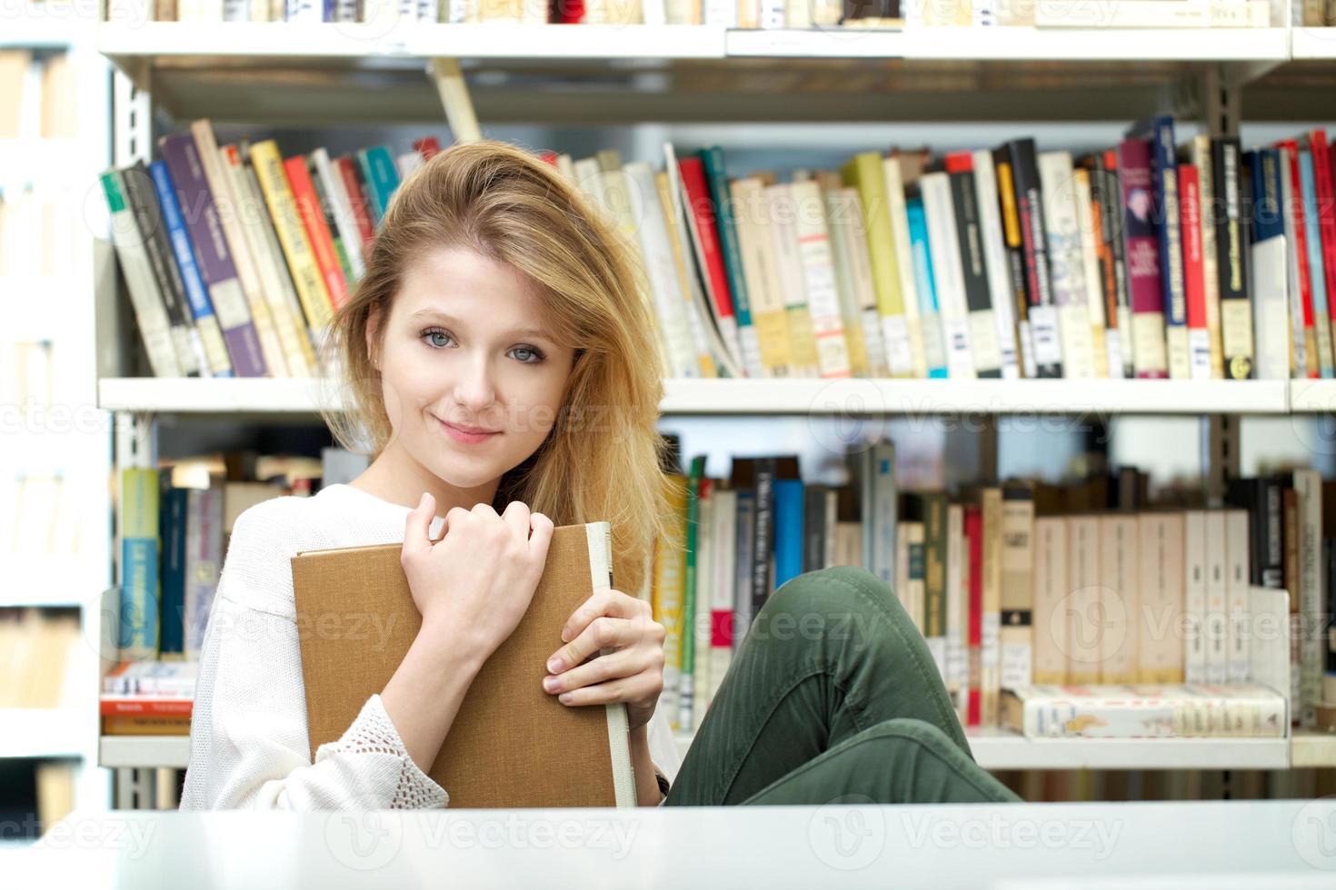 retrato de estudiante foto
